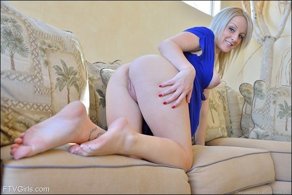 blonde begs for sticky cum